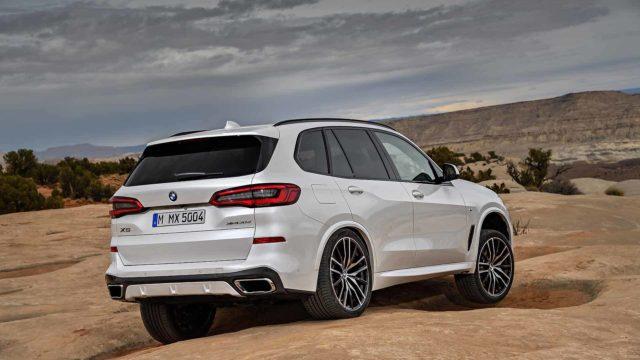 2019 BMW X5 redesign rear
