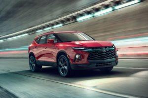 2019 Chevrolet Blazer front