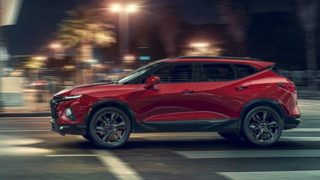 2019 Chevrolet Blazer revealed