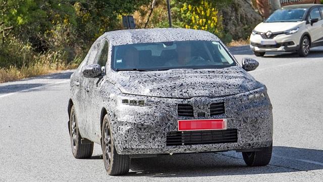 2019 Renault Captur Coupe spy