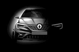 2019 Renault Captur Coupe teaser