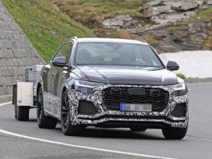 2020 Audi Q8 RS spy