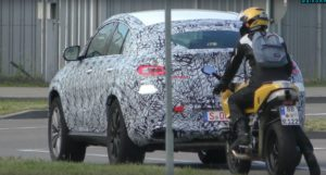 2020 Mercedes-Benz GLE Coupe spy
