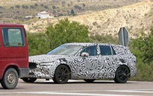 2020 Volvo V60 R spy shots