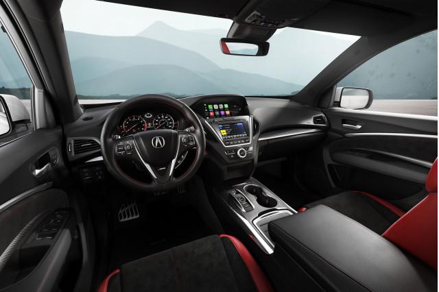 2019 Acura MDX A-Spec cabin