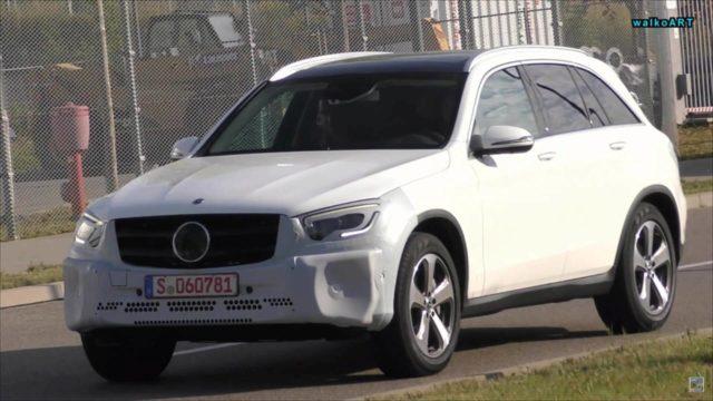 2019 Mercedes-Benz GLC spy