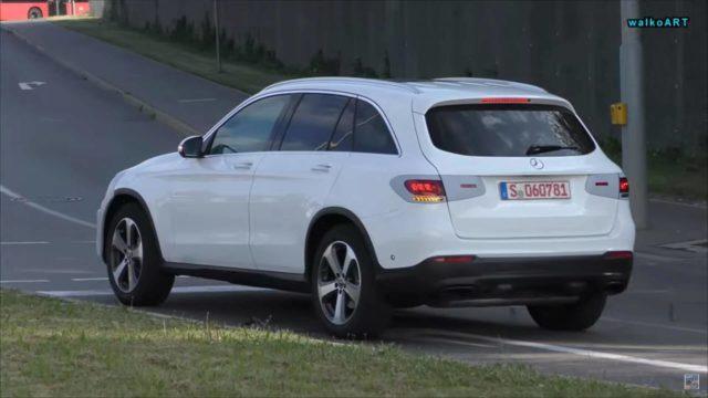 2019 Mercedes-Benz GLC spy rear