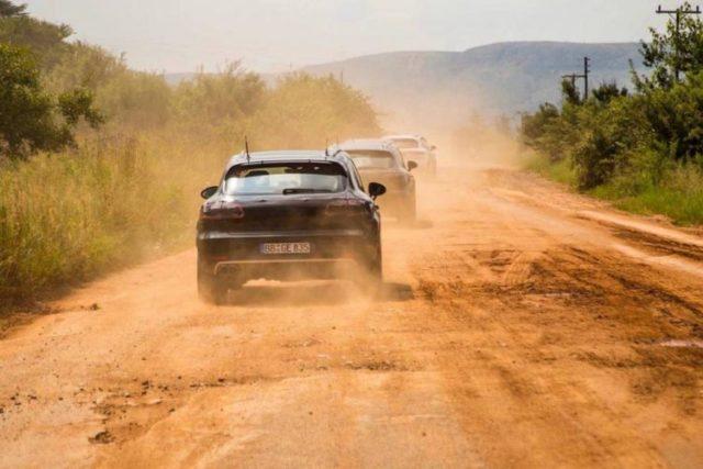2019-Porsche-Macan-testing-rear-view