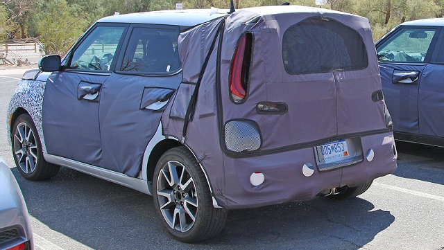 2020 Kia Soul Turbo rear