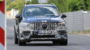 2020 Mercedes-AMG GLE 63 spy shots