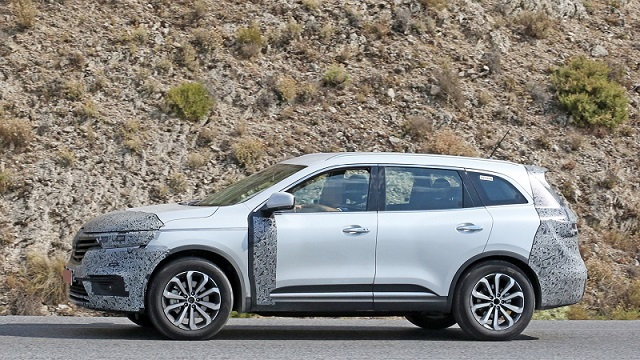 2019 Renault Koleos facelift side
