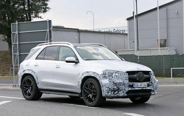 2020 Mercedes-AMG GLE 53 spy