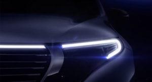 2020 Mercedes-Benz EQC teaser