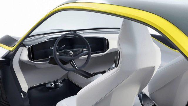 Opel GT X Experimental cabin