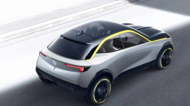 Opel GT X Experimental rear
