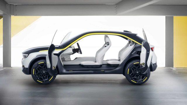Opel GT X Experimental side