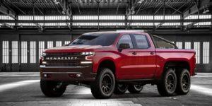 2019 Chevy Silverado-based Hennessey Goliath 6x6