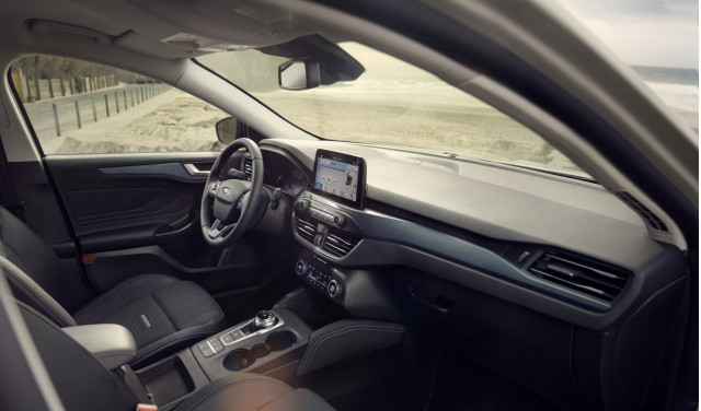 2019 Ford Focus Active Wagon cabin