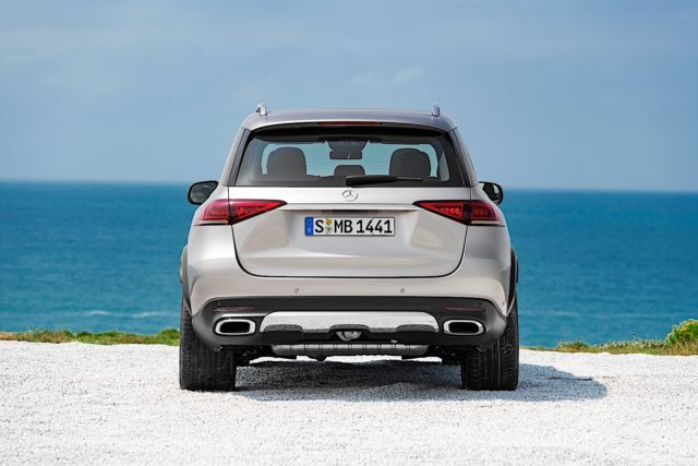 2019 Mercedes-Benz GLE rear