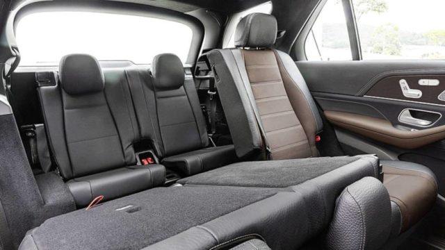2019 Mercedes-Benz GLE seats