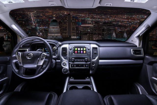 2019 Nissan Titan new infotainment