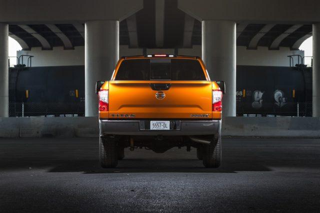 2019 Nissan Titan rear