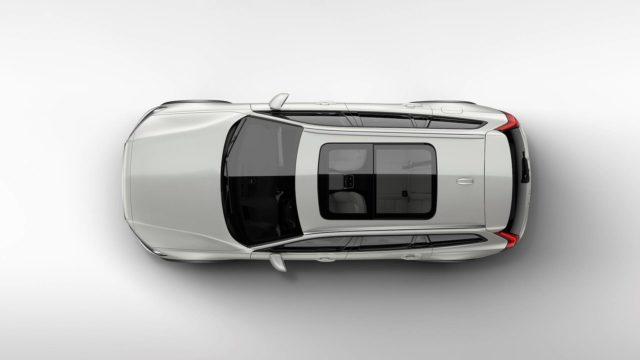 2019 Volvo V60 Cross Country roof