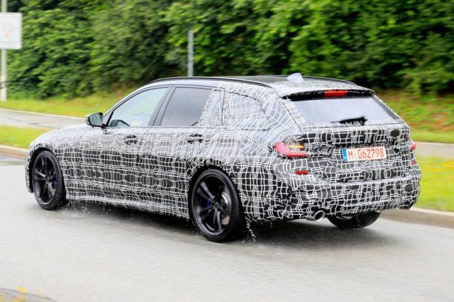 2020 BMW 3-Series Sports Wagon M-Performance spy rear