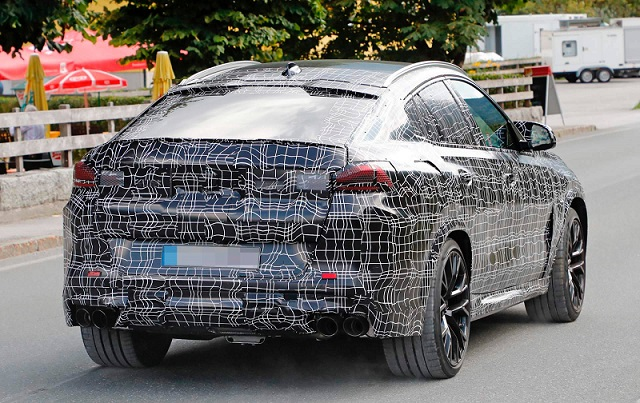 2020 BMW X6 M spy rear