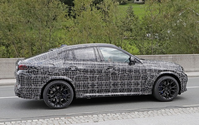 2020 BMW X6 M spy side