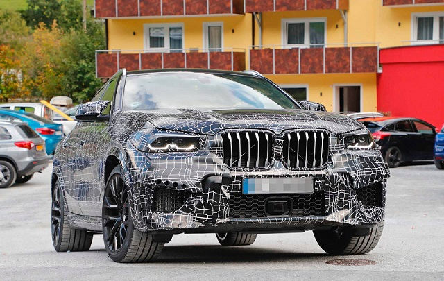 2020 Bmw X6 M Spied Testing Gets Over 600 Hp Suvs Trucks