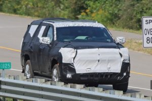 2020 Chevrolet Tahoe spy