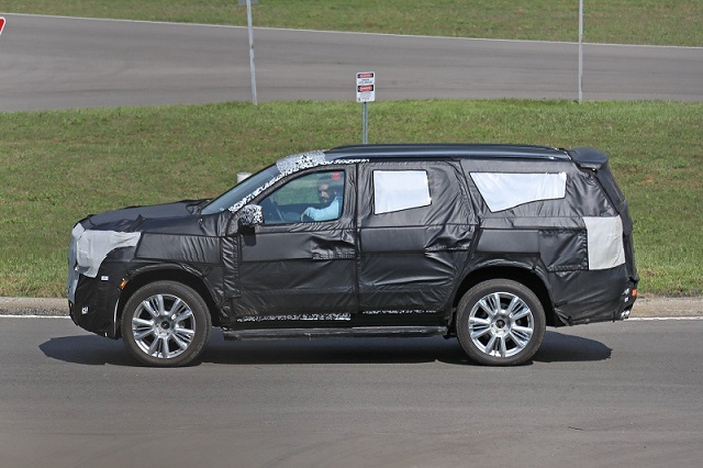 2020 Chevrolet Tahoe spy side