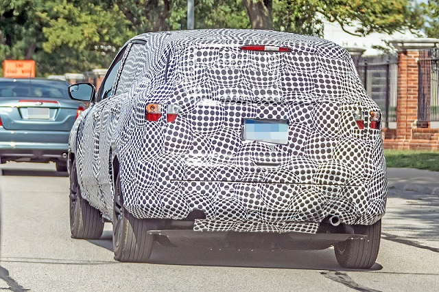 2020 Ford Electric SUV spy rear
