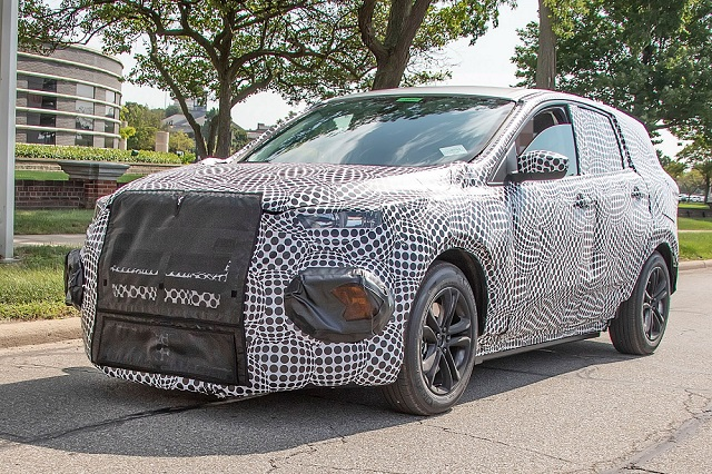 2020 Ford Electric SUV spy