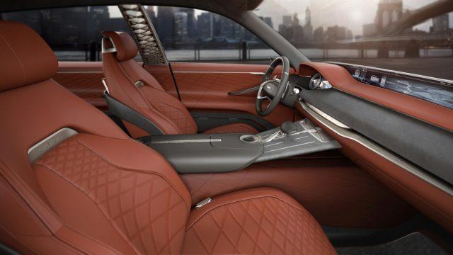 2020 Genesis GV80 interior