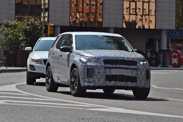2020 Land Rover Discovery Sport spy