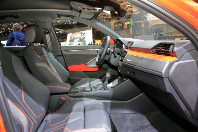 2019 Audi Q3 cabin