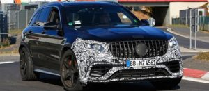 2019 Mercedes-AMG GLC 63 spy