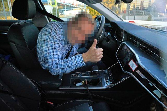 2020 Audi A6 Allroad cabin