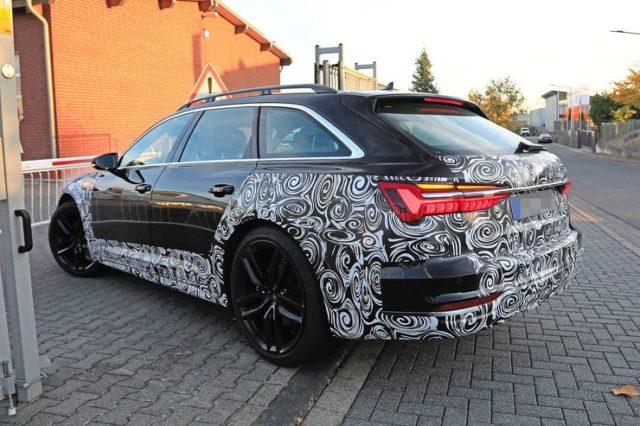 2020 Audi A6 Allroad quattro rear
