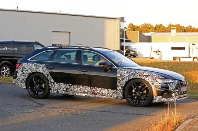 2020 Audi A6 Allroad side