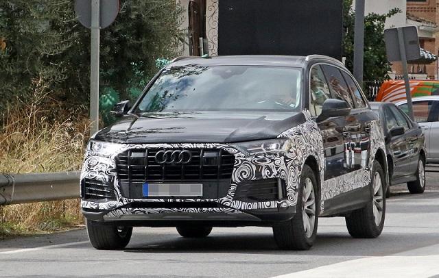 2020 Audi Q7 refresh