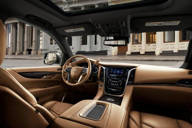 2020 Cadillac Escalade cabin