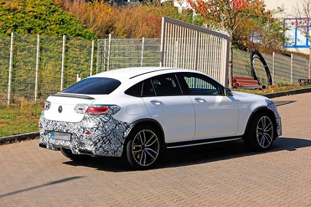 2020 Mercedes-AMG GLC 63 Coupe spy shots
