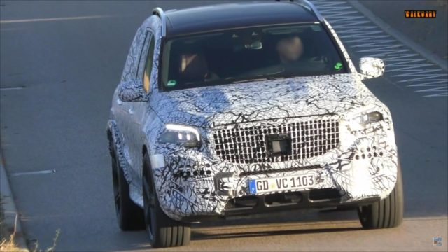 2021 Mercedes-AMG GLS 63 New Spy Photos Available >> 2020 Mercedes Amg Gls63 Spied And Filmed Again Suvs Trucks