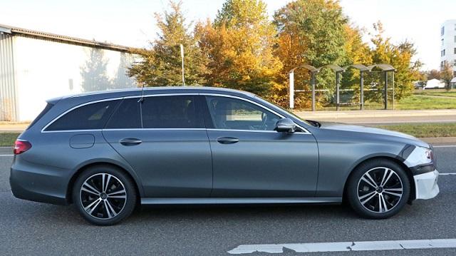 2020 Mercedes E-Class Wagon spy side