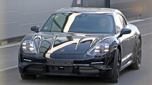 2020 Porsche Taycan Sport Turismo EV spy