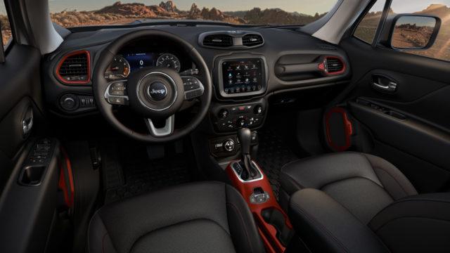 U.S-specs 2019 Jeep Renegade cabin