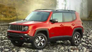 U.S.-specs 2019 Jeep Renegade